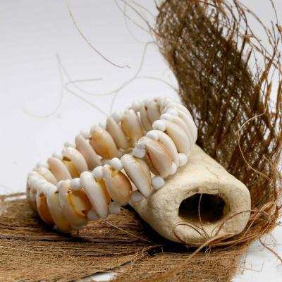 Bracelet perle rocailles et cauri
