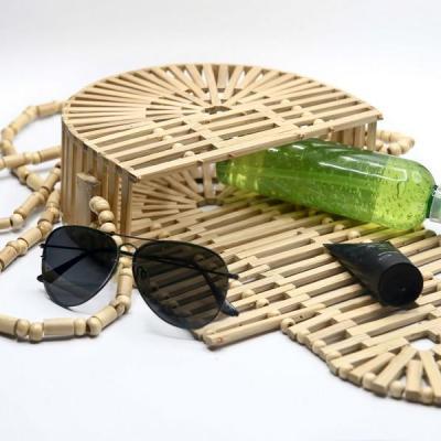 Sac besace bambou