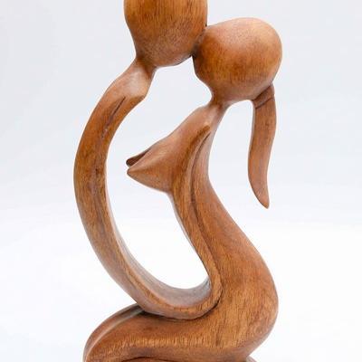 Statuette baiser 25 cm