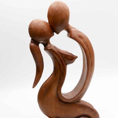Statuette baiser 30 cm